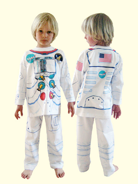 Pouce et compagnie pyjama d guisement astronaute - Deguisement princesse a faire soi meme ...